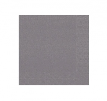 Granite Grey 3ply Napkins
