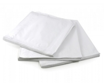 White Paper Bags 8.5'' x 8.5''