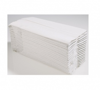 White C Fold Hand Towels 2ply