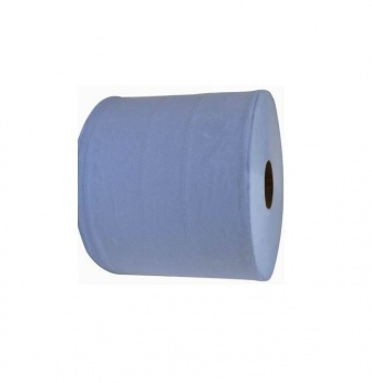 Industrial Wiping Rolls Blue 2ply