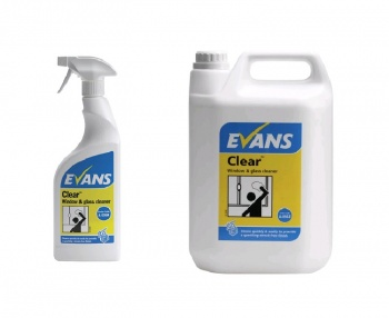 Clear - Glass, Window & SS Cleaner