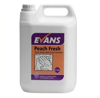 Evans Peach Fresh Soap 5ltr