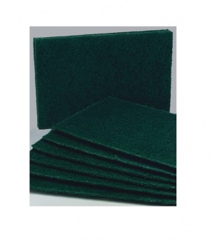 Green Scouring Pads 10pk