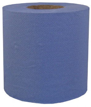 Blue Centrefeed Rolls 2 ply Embossed