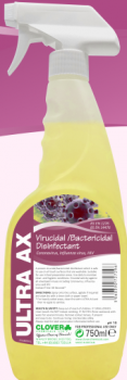 Ultra AX Virucidal/bactericidal Disinfectant Spray (6x750ml)