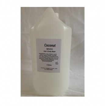 Coconut Hair & Body Shower Gel 5ltr