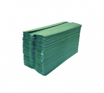 Green C Fold Hand Towels 1ply