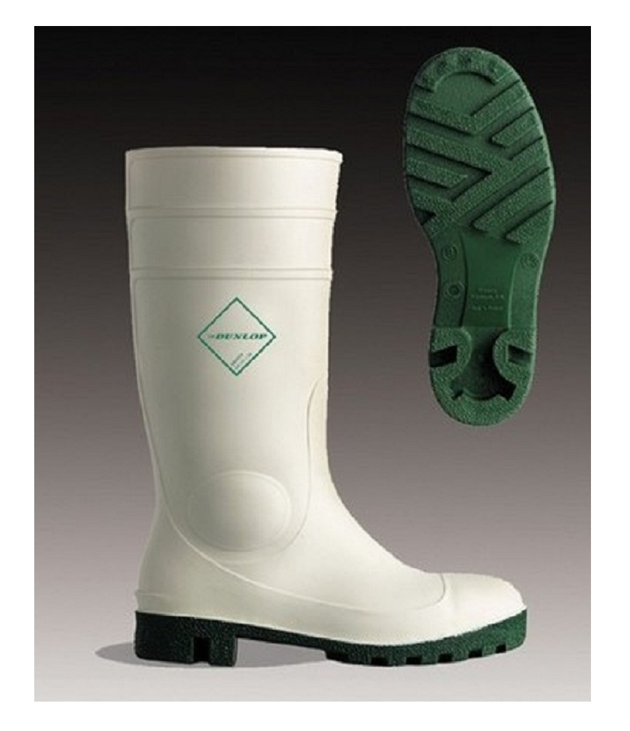 White Safety Wellington Boots Dunlop Protomaster