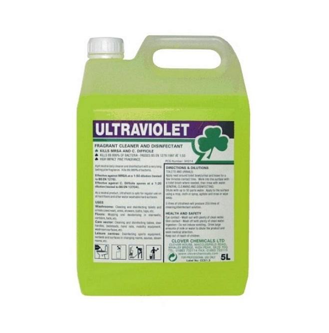 Ultraviolet Disinfectant Amp Cleaner 5ltr