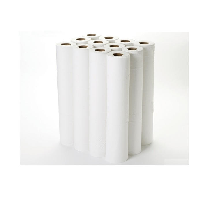 White 2 ply Couch Rolls 20'' (12pk)