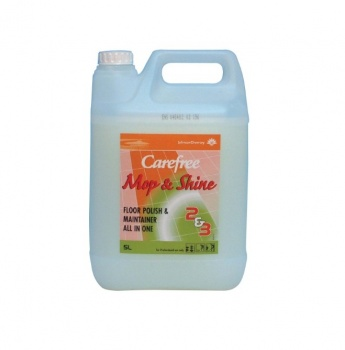 Carefree Mop & Shine 2 x 5ltr