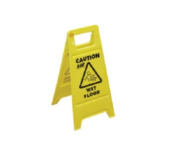 Folding Safety Floor Sign