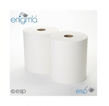 Industrial Wiping Rolls White 2ply