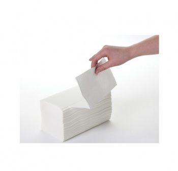 White Inter-fold Hand Towels